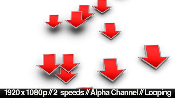 Thumbnail for Into the Red Investment Losses Arrows - With Alpha