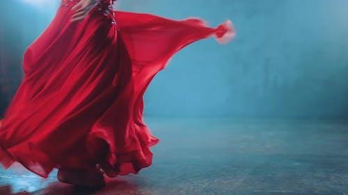 Beautiful Swing Skirts in Dance Oriental Style