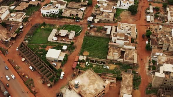 Thumbnail for Africa Mali Village Aerial View 4