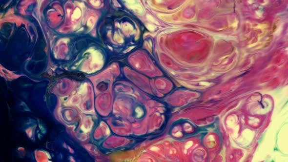 Cover Image for Abstract Colorful Paint Liquid Artistic Movement 12