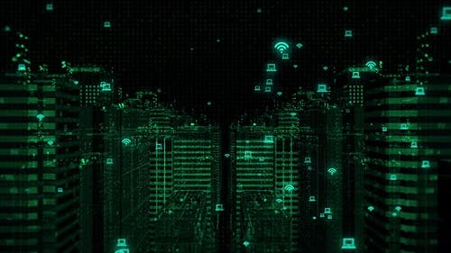 Cyber City Connect Wifi and Computer 4K