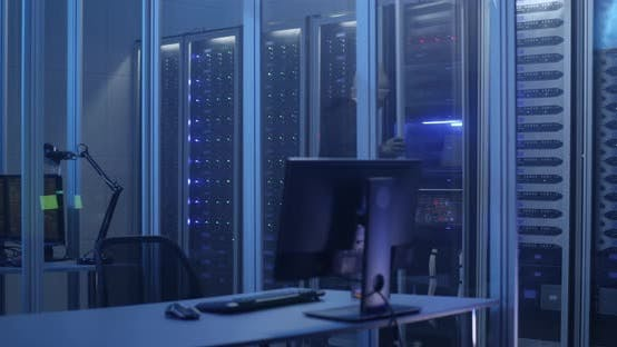 Thumbnail for Hackers Breaking Into a Data Center