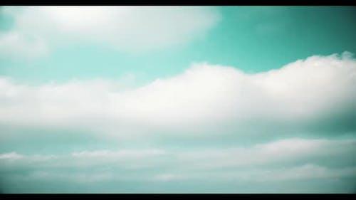 nuages réalistes Cinématographique