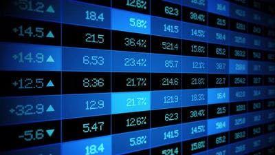 Trending Stock Market Ticker Board