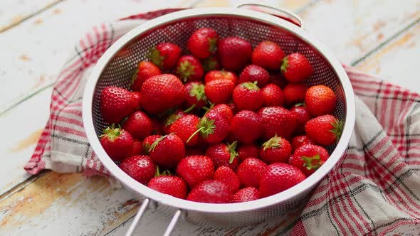 Thumbnail for Freshly Harvested Strawberries