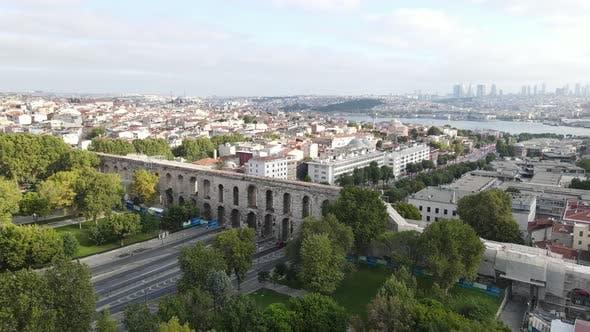 Valens Aqueduct Bozdogan Kemeri Istanbul