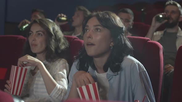Thumbnail for Two Beautiful Women in the Cinema