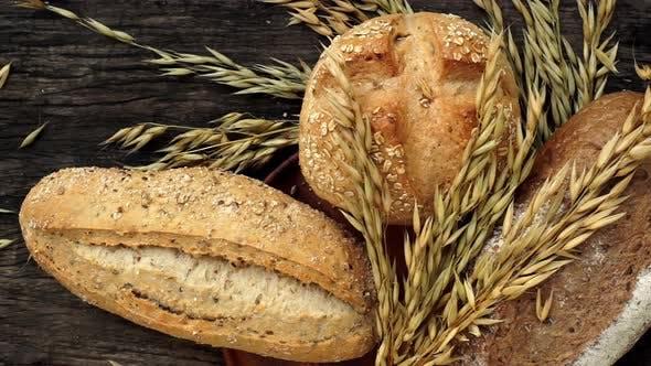 Thumbnail for Freshly Made Traditional Italian Ciabatta baked bread 03