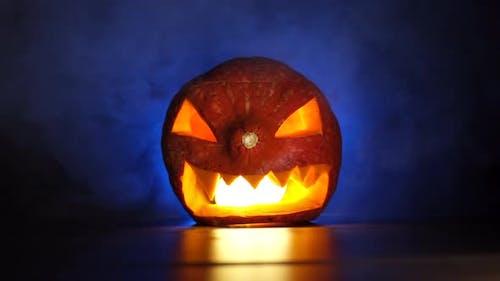 Halloween Spooky Horror Pumpkin