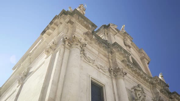 View of Church of Saint Blaise in Dubrovnik