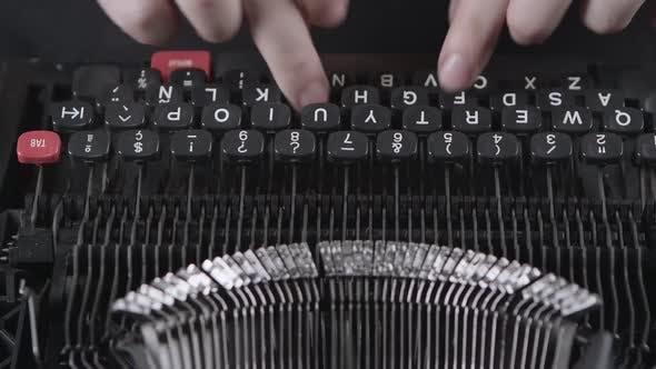 Thumbnail for Printing on Old Typewriter