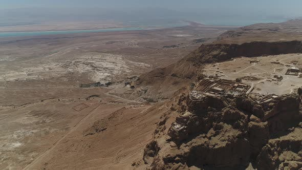 Cover Image for Aerial of the Dead Sea and Masada