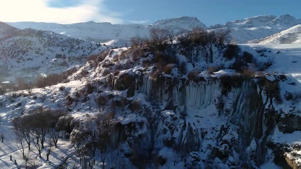 Cover Image for Ice Waterfall Turkey