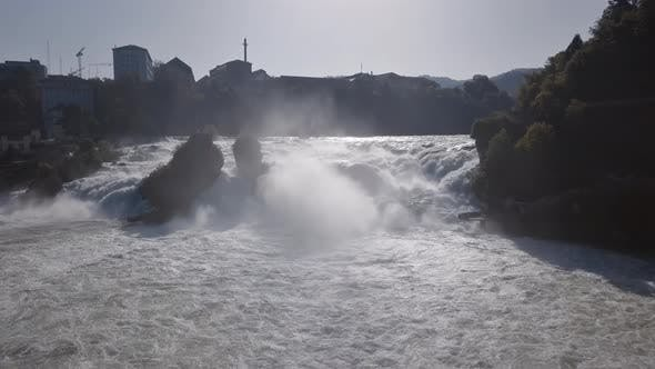 Thumbnail for Aerial View of Rhine Falls, Switzerland
