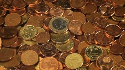 Thumbnail for Euro Coins Rotating