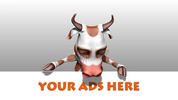 Fun Cow - Cartoon Ads