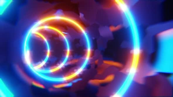 Thumbnail for Neon Circle Loop