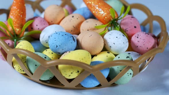 Thumbnail for Colorful Traditional Celebration Easter Paschal Eggs