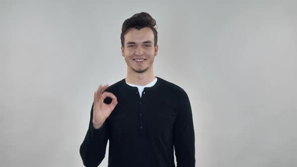 Thumbnail for Caucasian Person Express Symbol Good