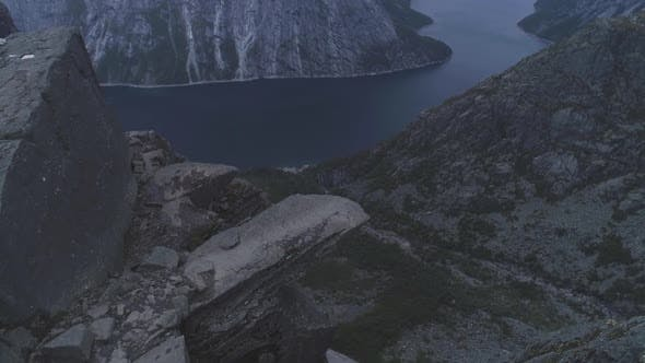 Thumbnail for Trolltunga Mountain Cliff in Norway