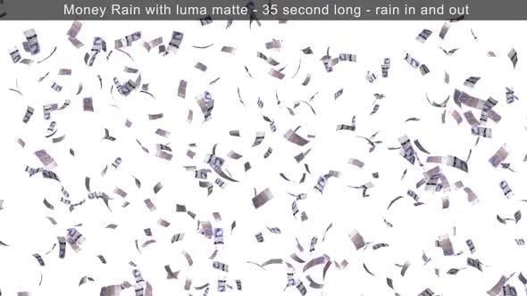 Money Rain British Pounds