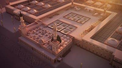 Al Masjid an Nabawi 3d mosque FHD Camera 03