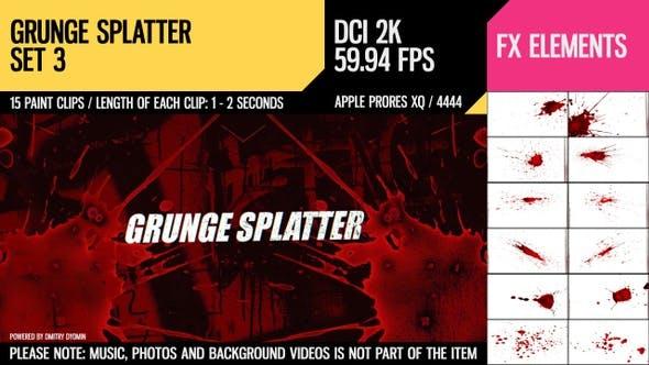 Thumbnail for Grunge Splatter (2K Set 3)
