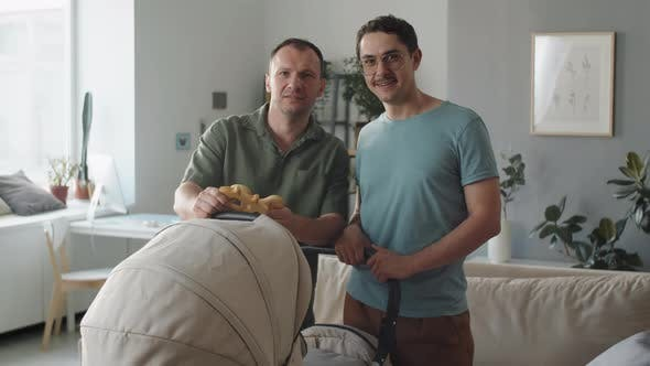 Gay Parents With Foster Baby