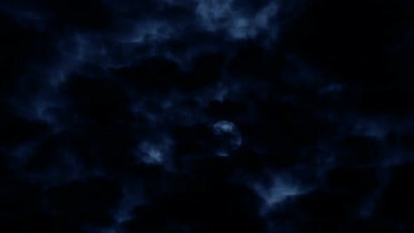 Thumbnail for Moon in Clouds
