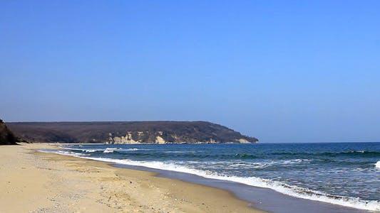 Thumbnail for Beautiful Beach And Rocky Seashore