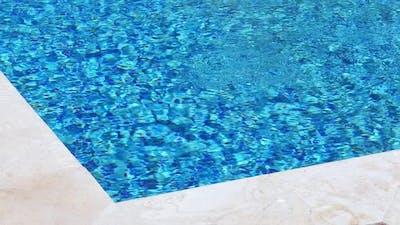 Edge of Swimming Pool Nobody