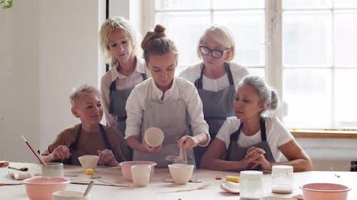 Master-class in Ceramic Workshop