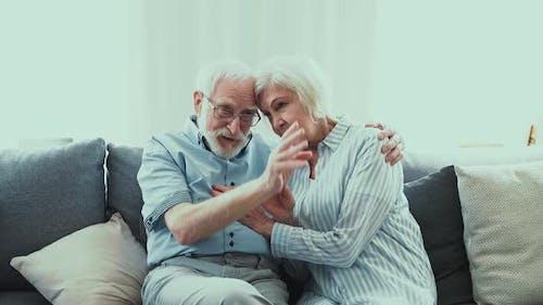 senior couple lifestyle moments