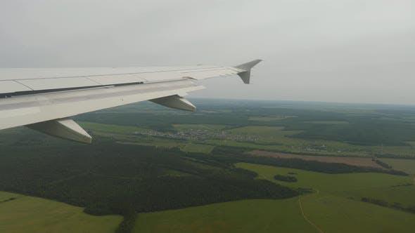 Aerial View Suburb of Kazan City