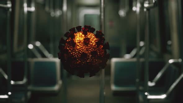 Thumbnail for Coronavirus Covid19 Epidemic in Subway Car