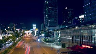 Night vehicle traffic
