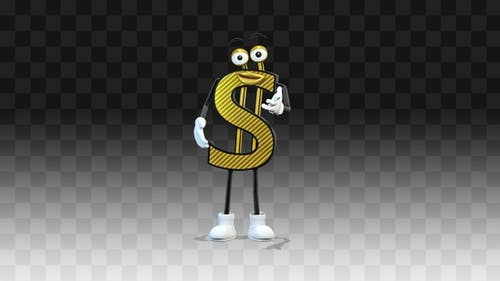 Dollar spricht und erzählt