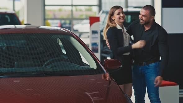 Surprise in Car Dealership