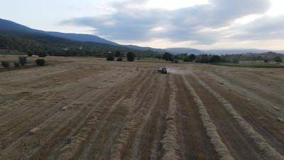 Harvest Agricultural Equipment in Rural