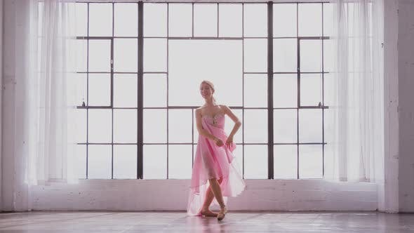 Thumbnail for Beautiful Ballerina In Slow Motion