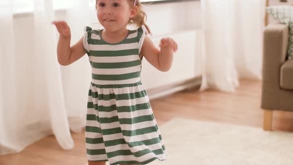 Thumbnail for Happy Baby Girl Having Fun at Home 9