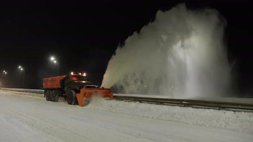Grader Clean Remove Snow, Snowplow