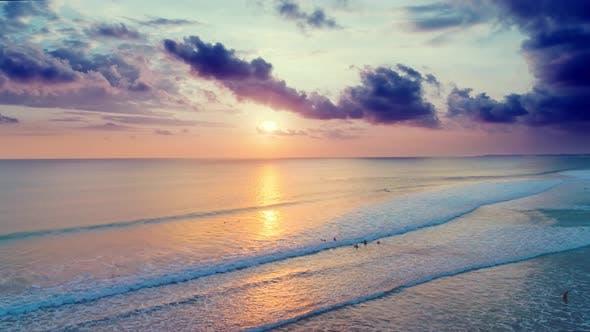 Thumbnail for Sunset on the Ocean Coast