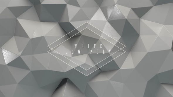 Thumbnail for White Low Poly