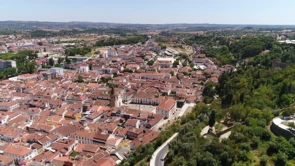 Thumbnail for Flight Historic City Center of Tomar, Portugal