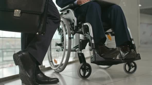 Thumbnail for Working with Disabled Person