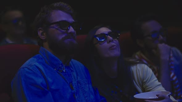 Thumbnail for Romantic Date in the Movie Theater