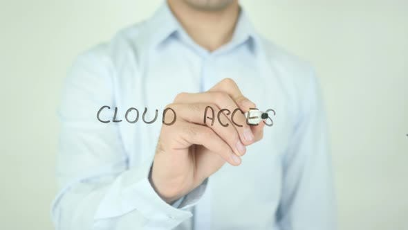 Thumbnail for Cloud Access, Writing On Screen