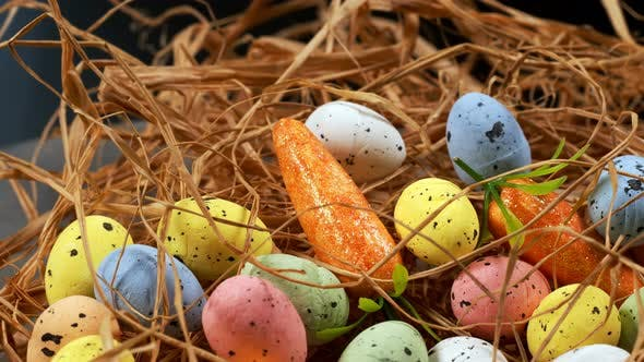 Thumbnail for Colorful Traditional Celebration Easter Paschal Eggs 42