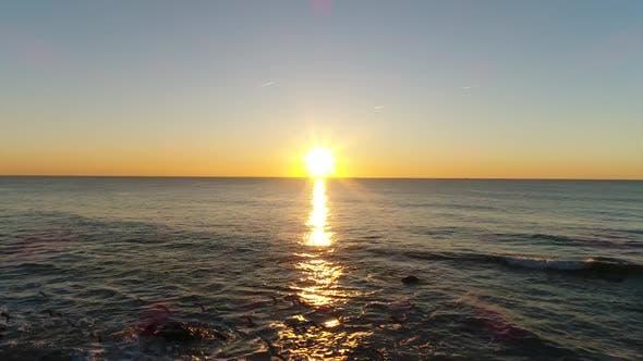Thumbnail for Strand bei Sonnenuntergang